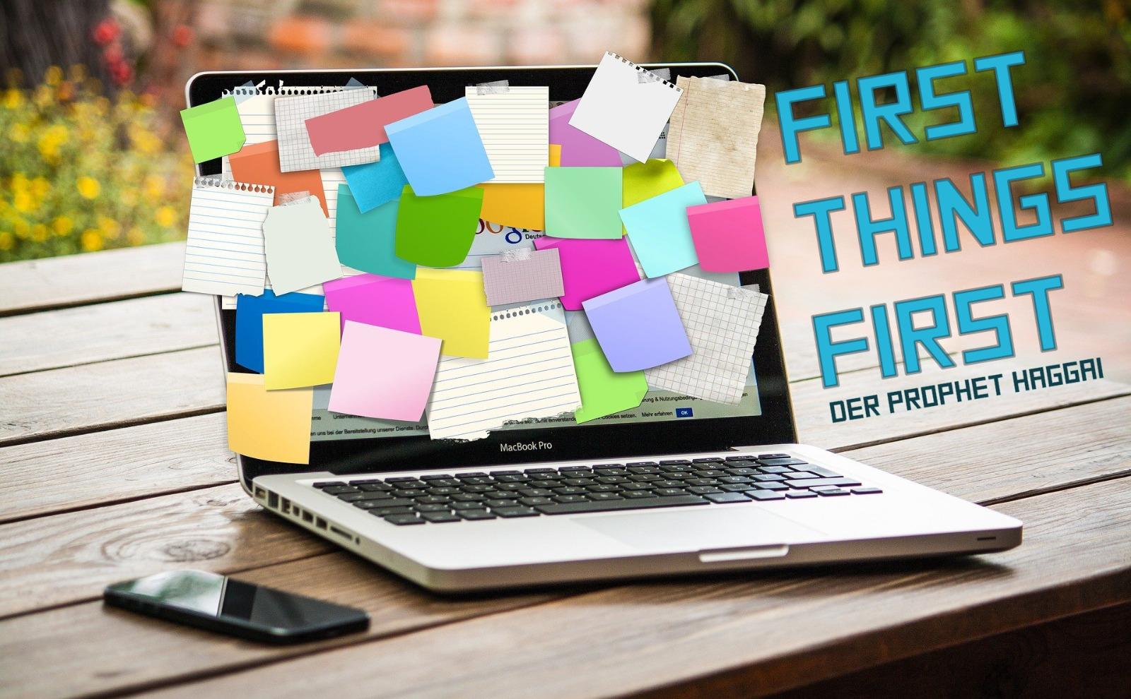 First Things First - Gottes Gegenwart suchen